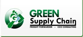 Logo de Green supply chain