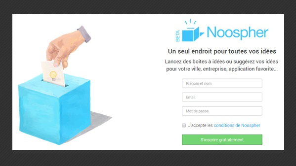 Noospher la boite id e num rique 1001 startups for Idee application web