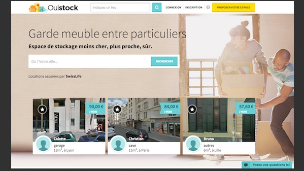 la start up ouistock garde meuble entre particuliers 1001startups. Black Bedroom Furniture Sets. Home Design Ideas