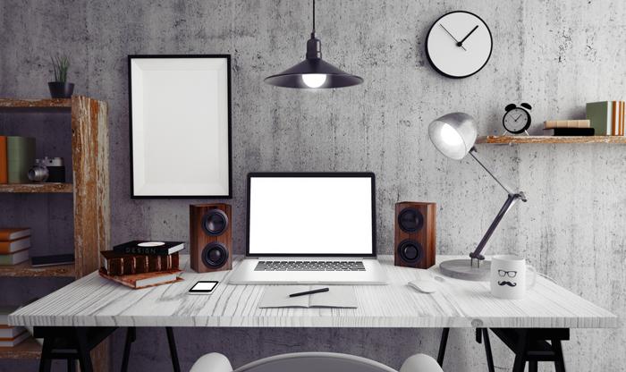 comment d corer et agencer son bureau wydden. Black Bedroom Furniture Sets. Home Design Ideas