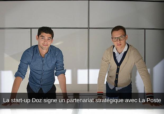 La start-up Doz signe un partenariat stratégique avec La Poste