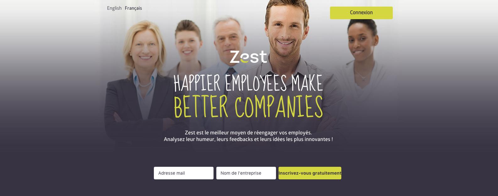 zest me pup startup 2017