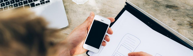 application mobile startup