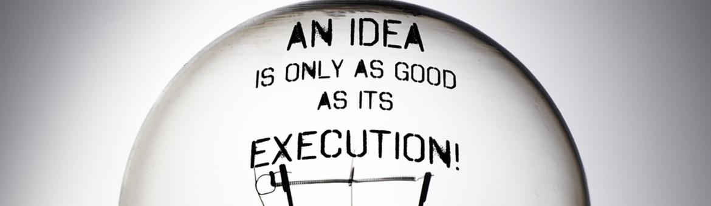 startup idea vs execution