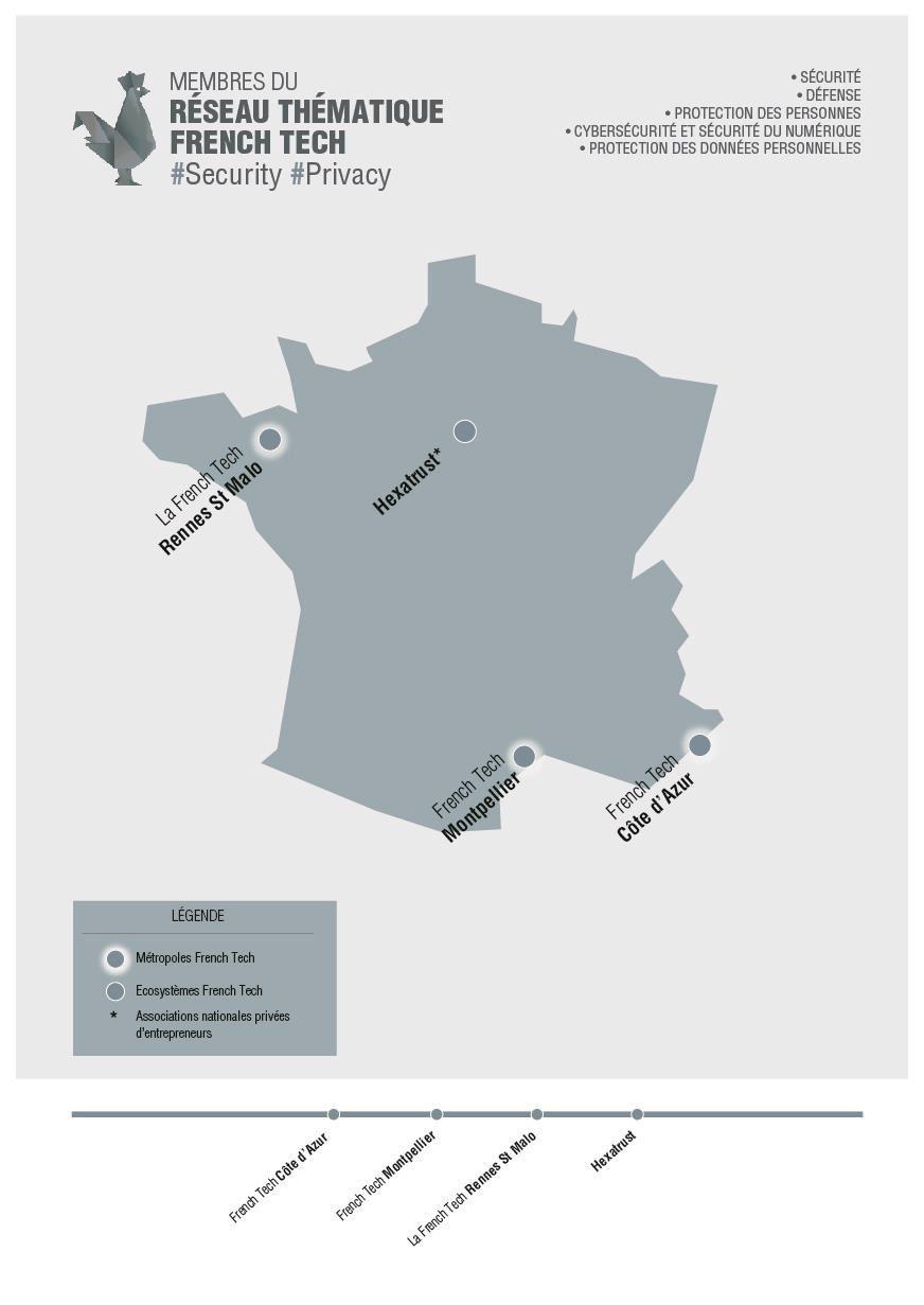 french tech réseaux thématiques
