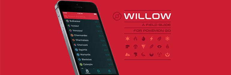willow application pour jouer à pokémon go