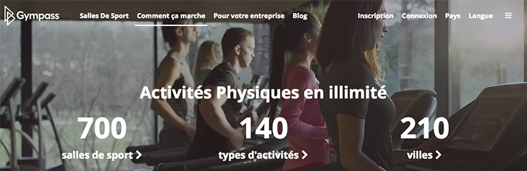 gympass emploi startup