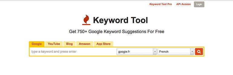 Keyword tool outils pour améliorer son référencement naturel