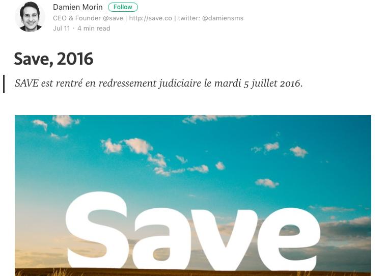 save startup redressement judiciaire