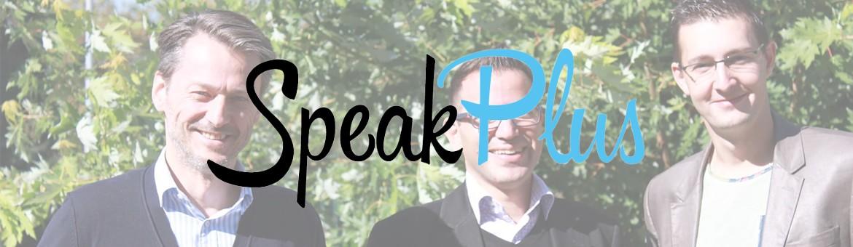 speakplus header startup