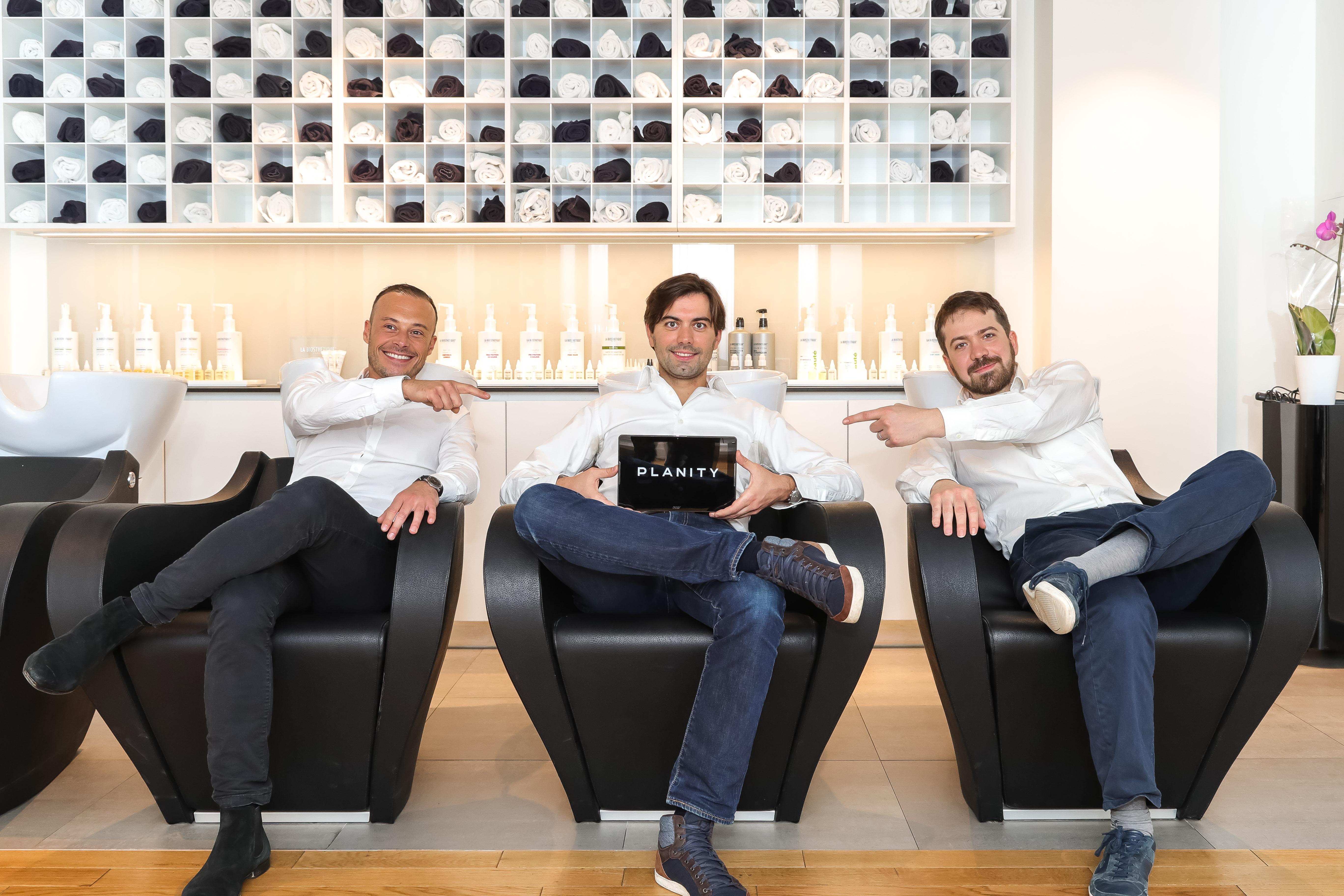 planity startup levée de fonds team