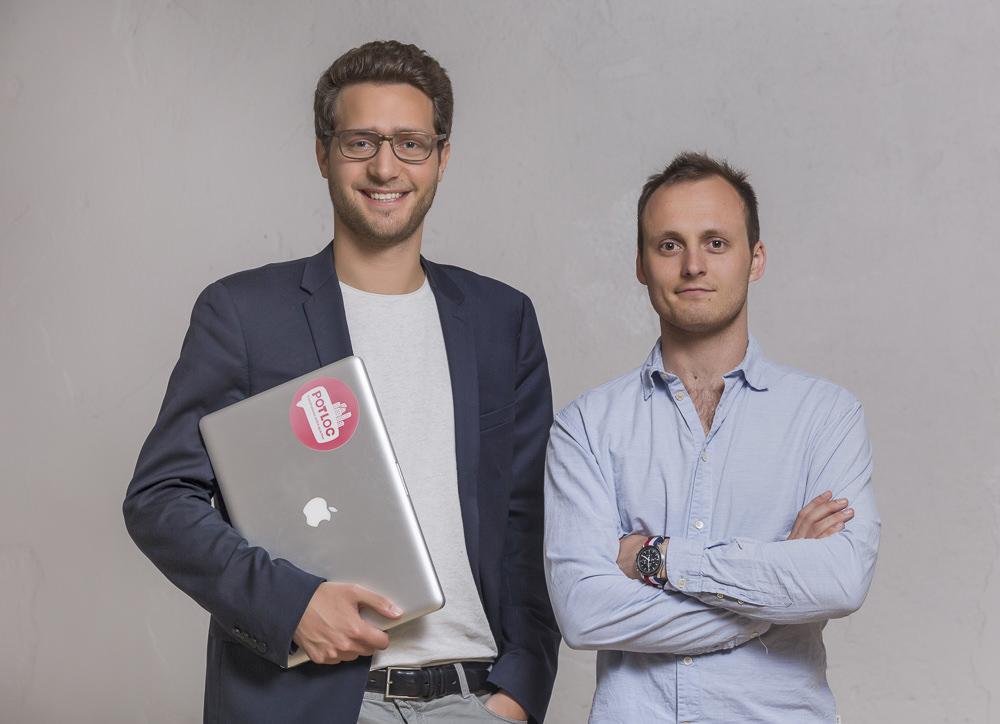 potloc startup commerce proximité