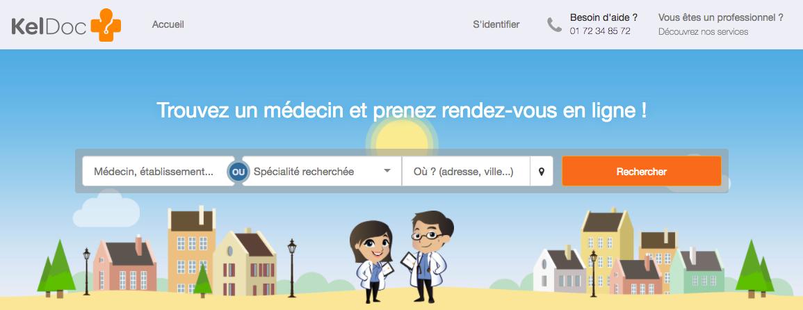 startup keldoc médecin