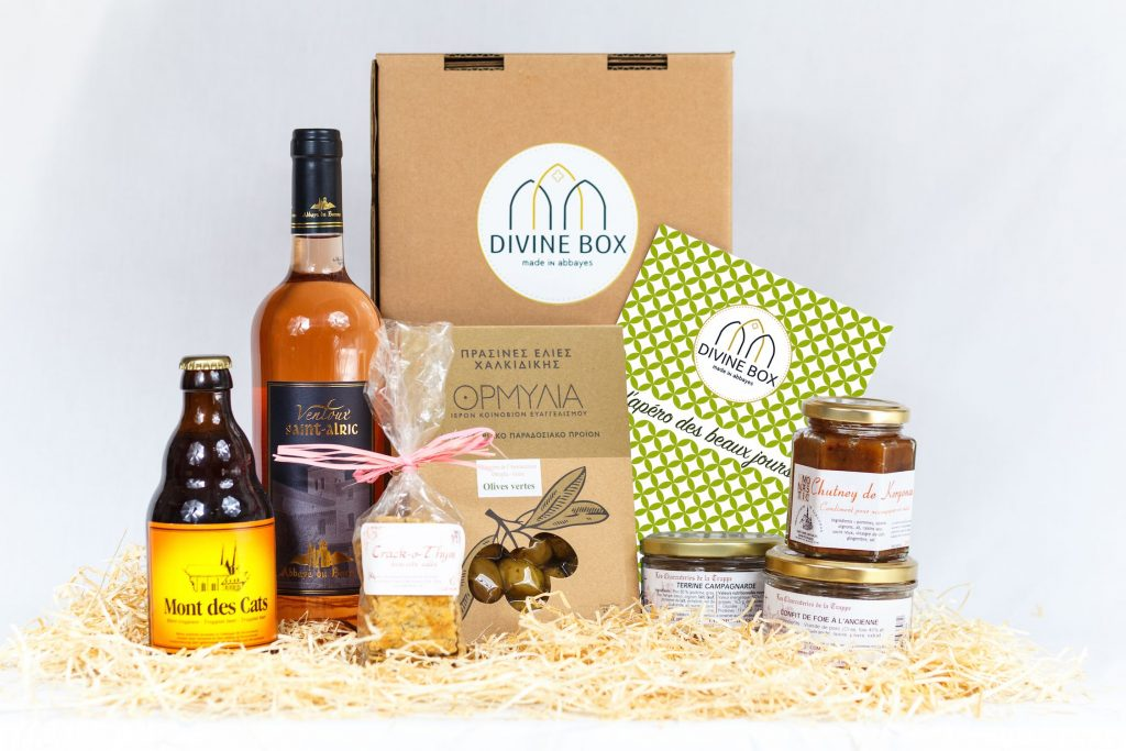 divine box startup business model