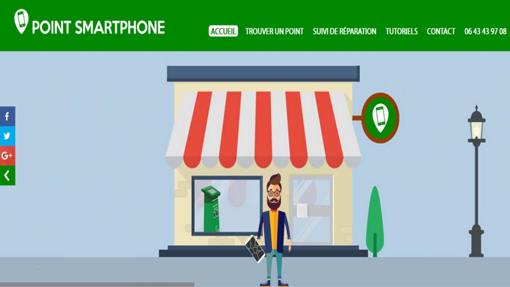 point smartphone startup