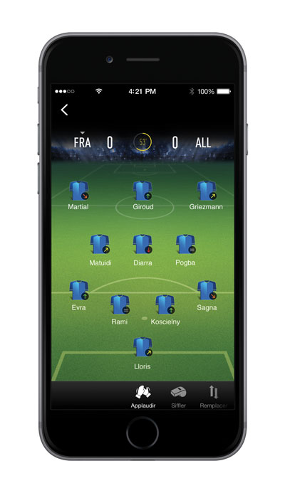 startup wefan football screen