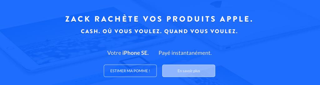 startup hellozack apple vente